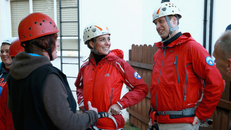Image: The Duke And Duchess Of Cambridge Visit North Wales