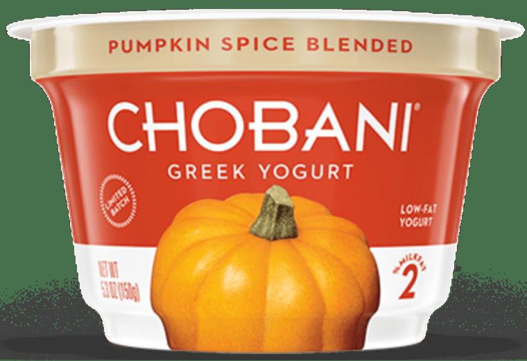 Chobani Pumpkin Spice Blended Greek Yogurt
