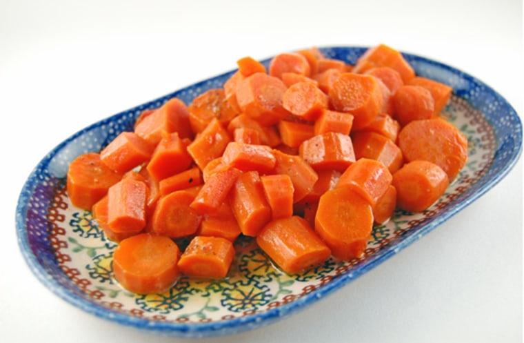 Slow Cooker Honey Glazed Carrots