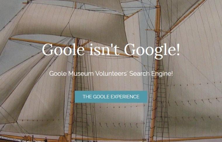 Image: Goole isn't Google page