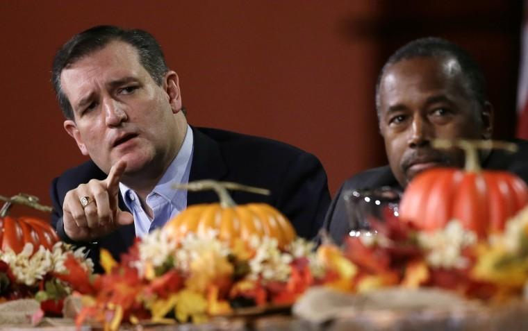 Image: Ted Cruz, Ben Carson