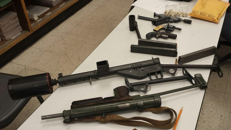 Image: Weapons cache