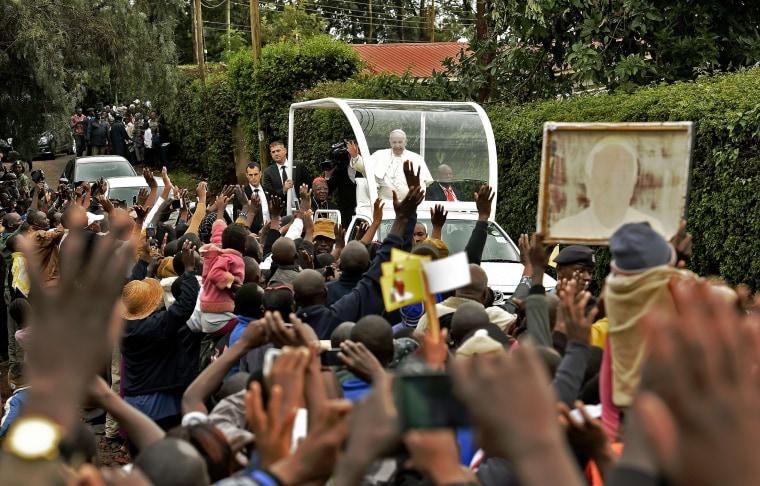 Image: Pope Francis in Nairobi, Kenya