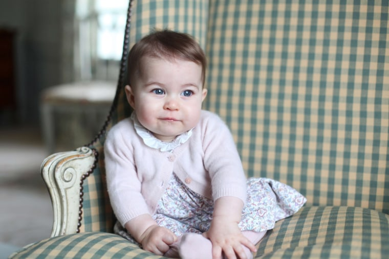 Image: Princess Charlotte of Cambridge.