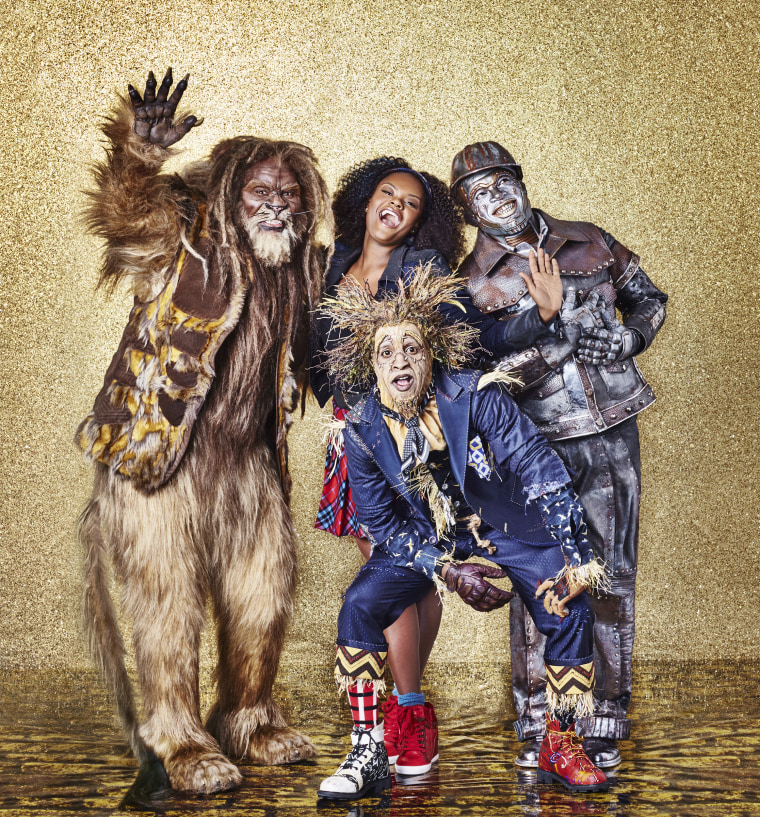 Behind the scenes of 'The Wiz Live!': From cast jitters to rehearsal