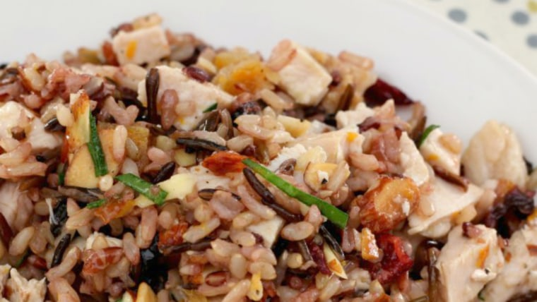 Turkey and Wild Rice Salad by David Slater, chef de cuisine at Emeril's