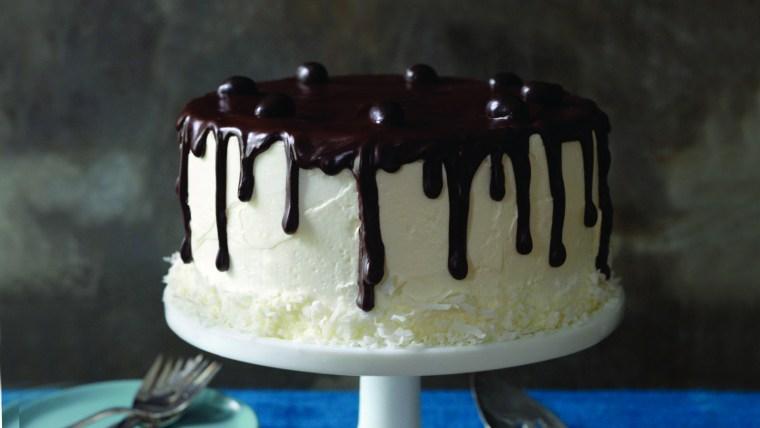 Coconut Bliss Cake, recipe by Seton Rossini