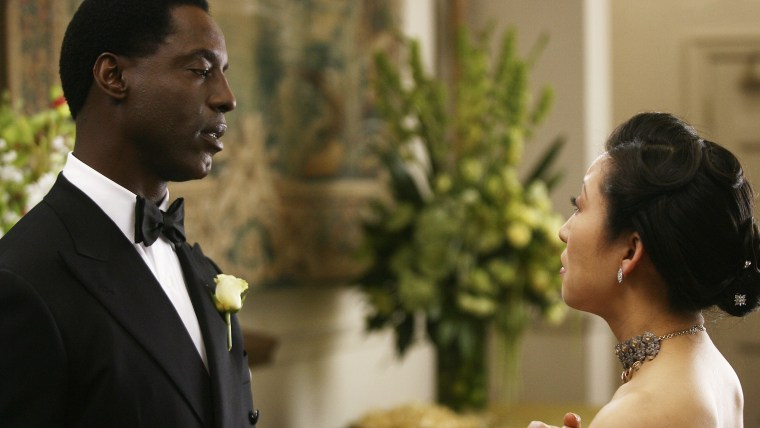 ISAIAH WASHINGTON, SANDRA OH