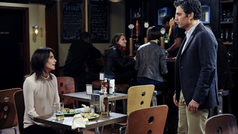 "Robin (Cobie Smulders) and Ted (Josh Radnor) shared some serious sparks on CBS' ""How I Met Your Mother."""