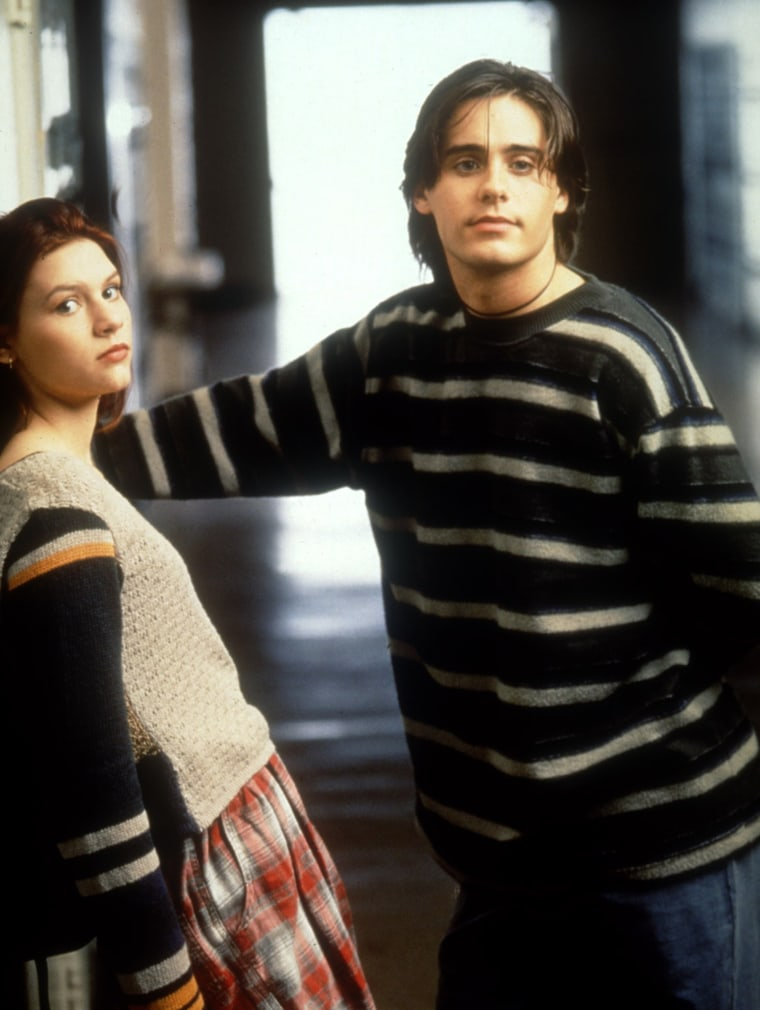 MY SO-CALLED LIFE, Claire Danes, Jaret Leto, 1994-1995. © ABC / Courtesy: Everett Collection