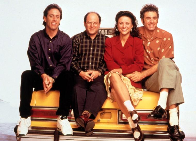 SEINFELD, Jerry Seinfeld, Jason Alexander, Julia Louis-Dreyfus, Michael Richards, 1990-98, Season 6.
