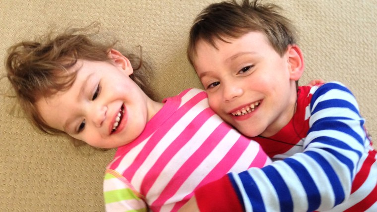 Jenny Mosier's two children