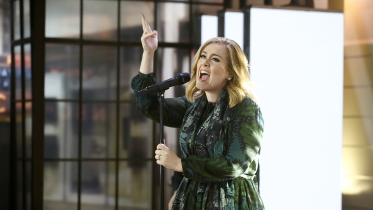 Adele performs on TODAY Show