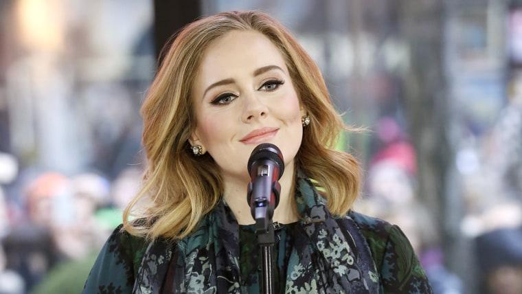 Adele on TODAY