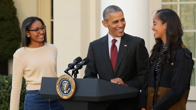 Image: President Obama Pardons National Thanksgiving Turkey
