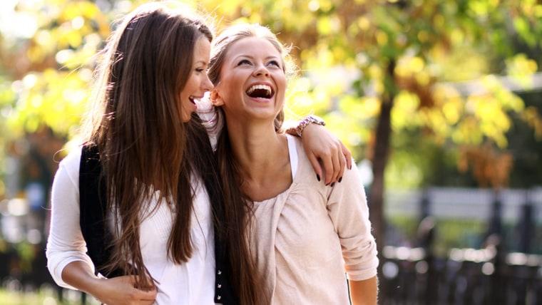 Image: happy women