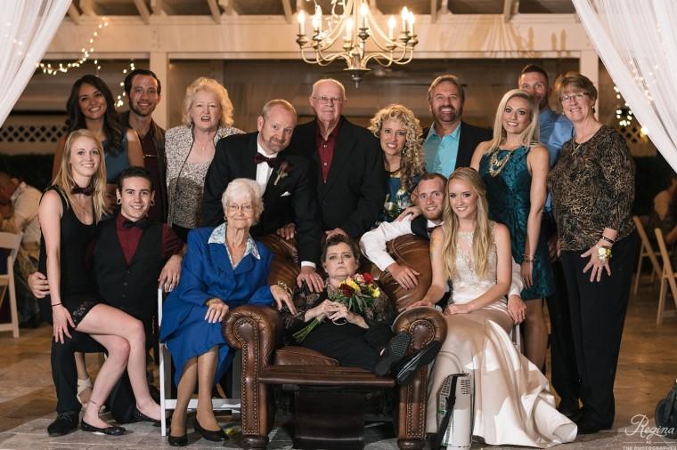 Crosby family at Tyler's wedding.