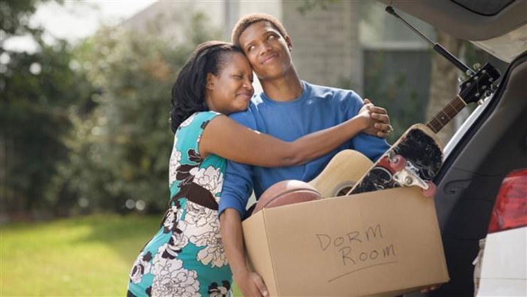 Moving out... or moving back in? More than 40 percent of men ages 18-34 live with their parents.
