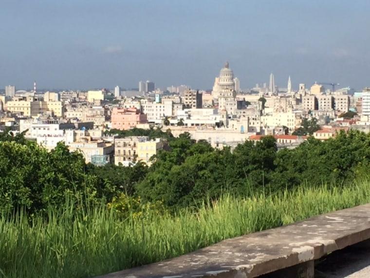Scenic view of Havana, Cuba.
