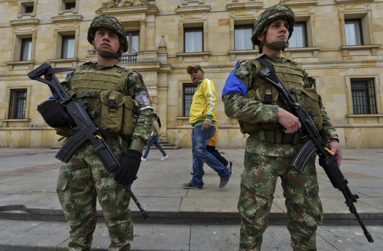 Image: COLOMBIA-ELECTION-LOCAL-SECURITY