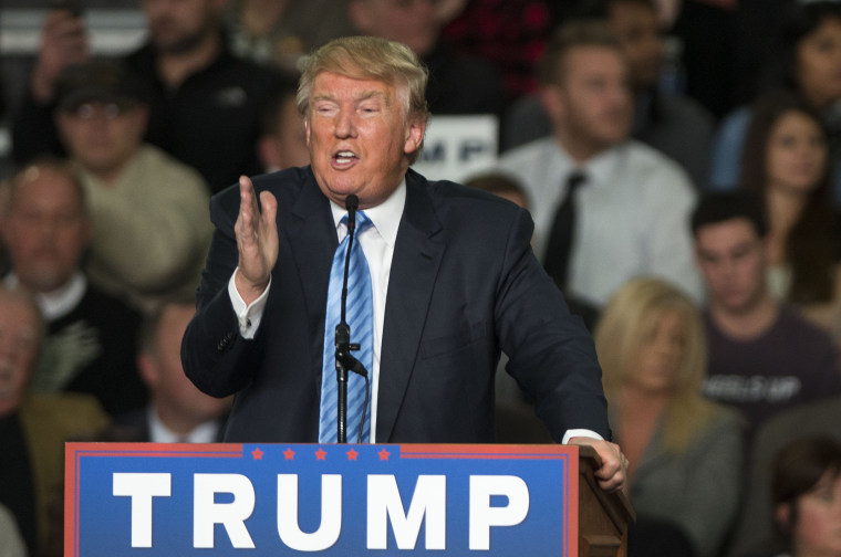 Image: Donald Trump Holds Campaign Rally In Columbus, Ohio