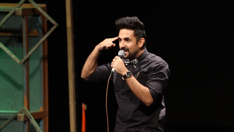 Comedian Vir Das was the first Indian comedian to headline Carolines on Broadway, a famous New York City comedy venue, in November 2015.
