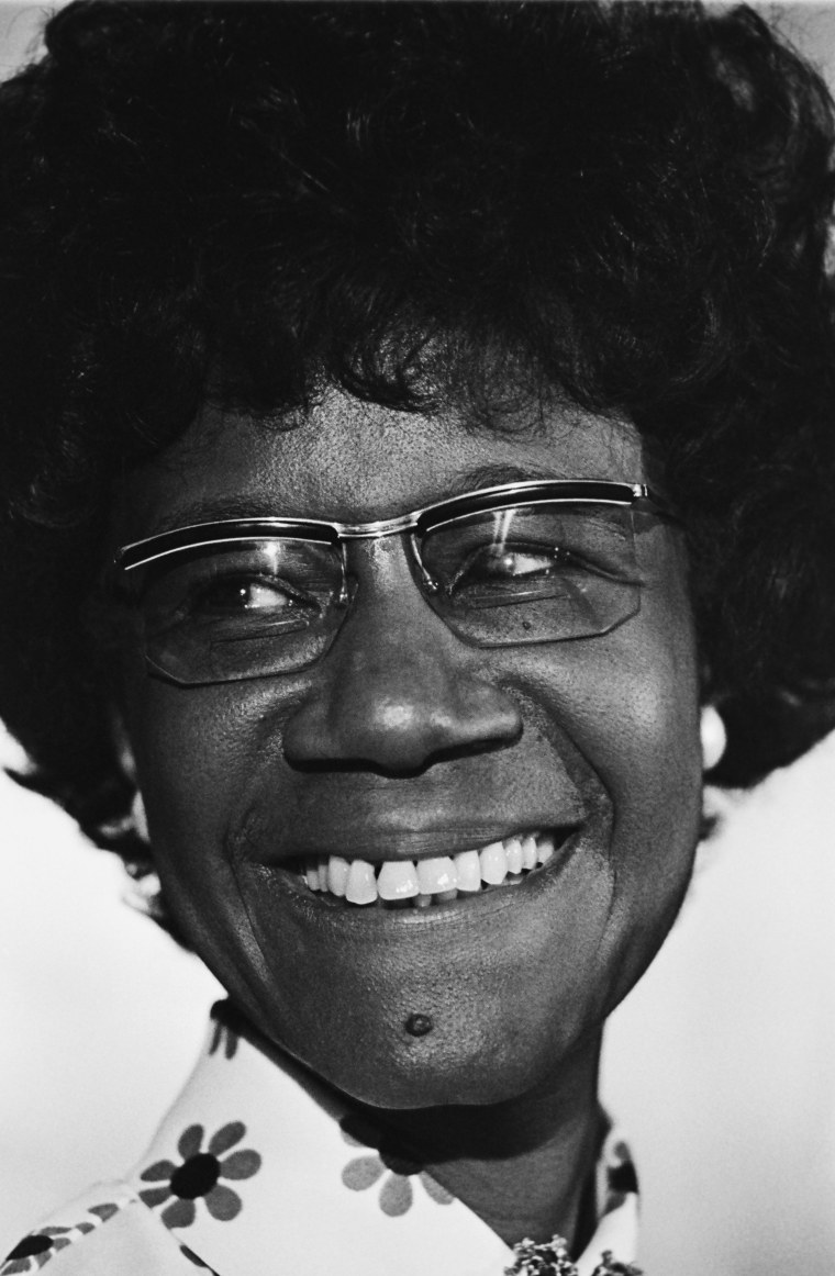 Shirley Chisholm Attends Democratic National Convention