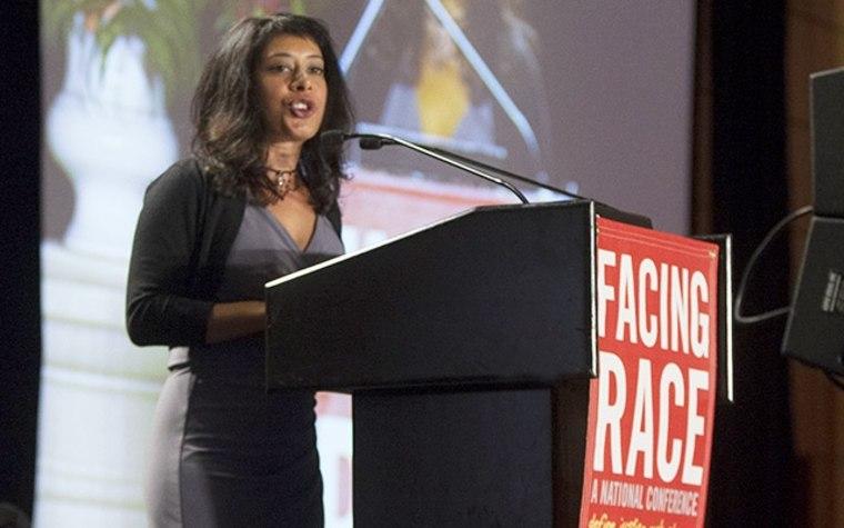 Rinku Sen speaking at Facing Race 2012, Baltimore
