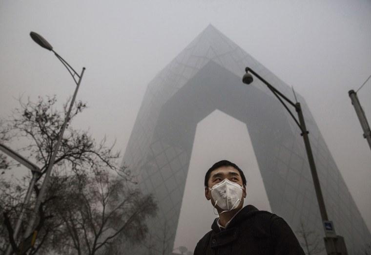 Image: BESTPIX Beijing Blanketed In Heavy Smog
