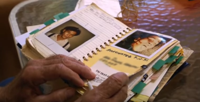 """This screenshot from """"Terror in Little Saigon,"""" a new documentary by PBS """"Frontline"""" and ProPublica that examines the unsolved murders of five Vietnamese-American journalists during the 1980s."""