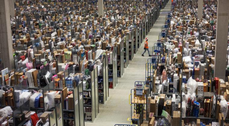 Image: Amazon logistics centre in Pforzheim