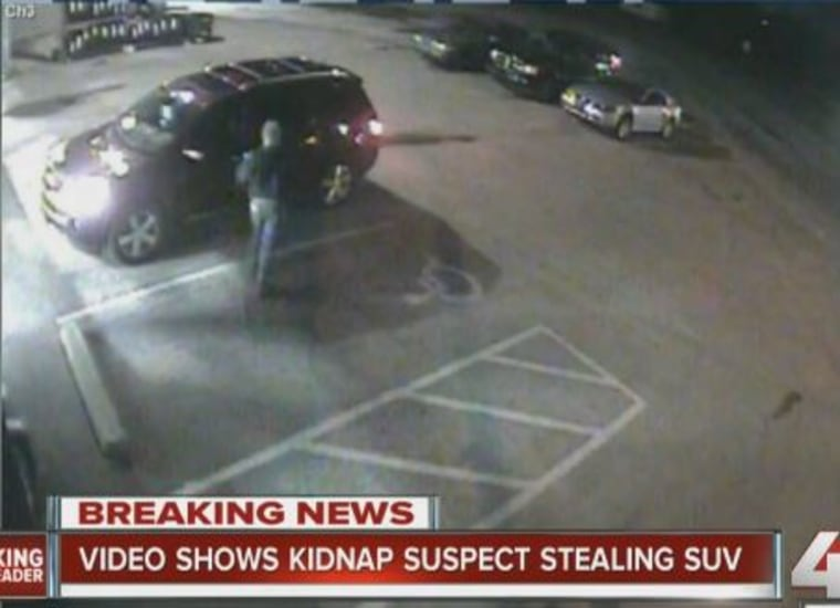 Security video shows the suspect.