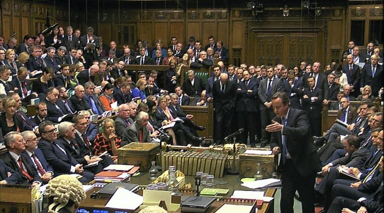 Image: BRITAIN-SYRIA-CONFLICT-POLITICS