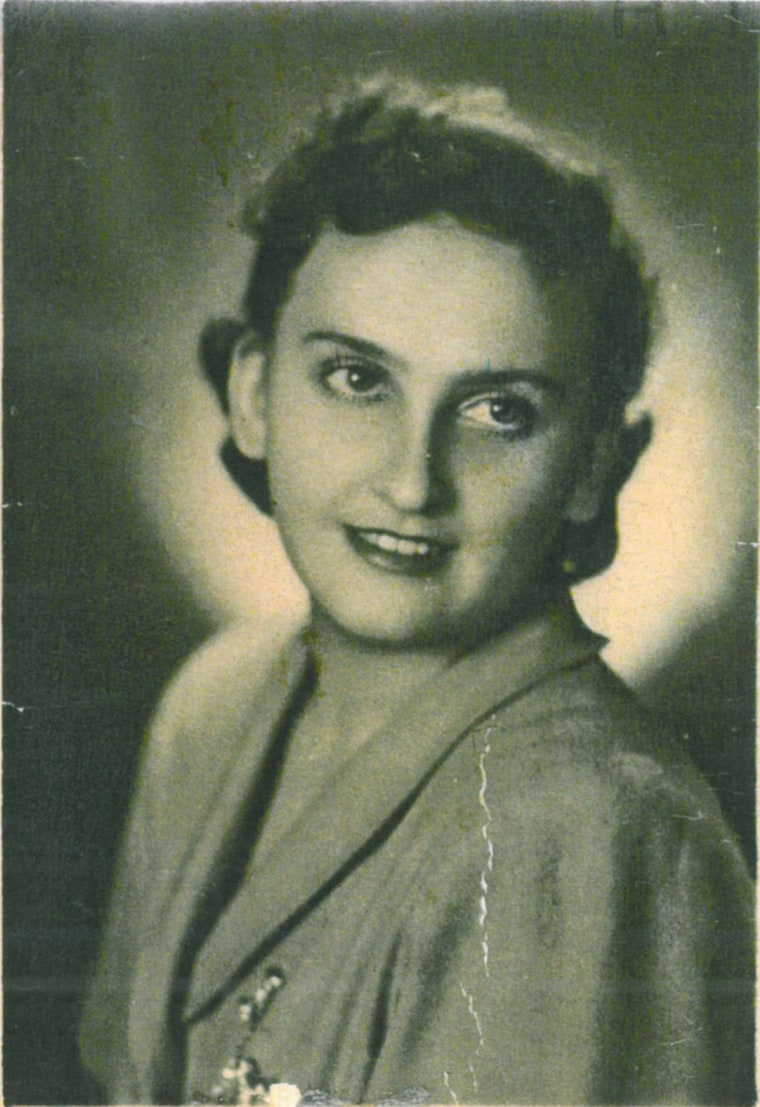 Krystyna Jakubowska, who helped save Michael Hochberg from the Nazis.