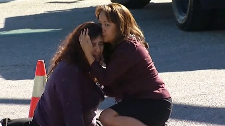 Authorities respondto a mass shooting in San Bernardino, California, where there were as many as 20 victims.