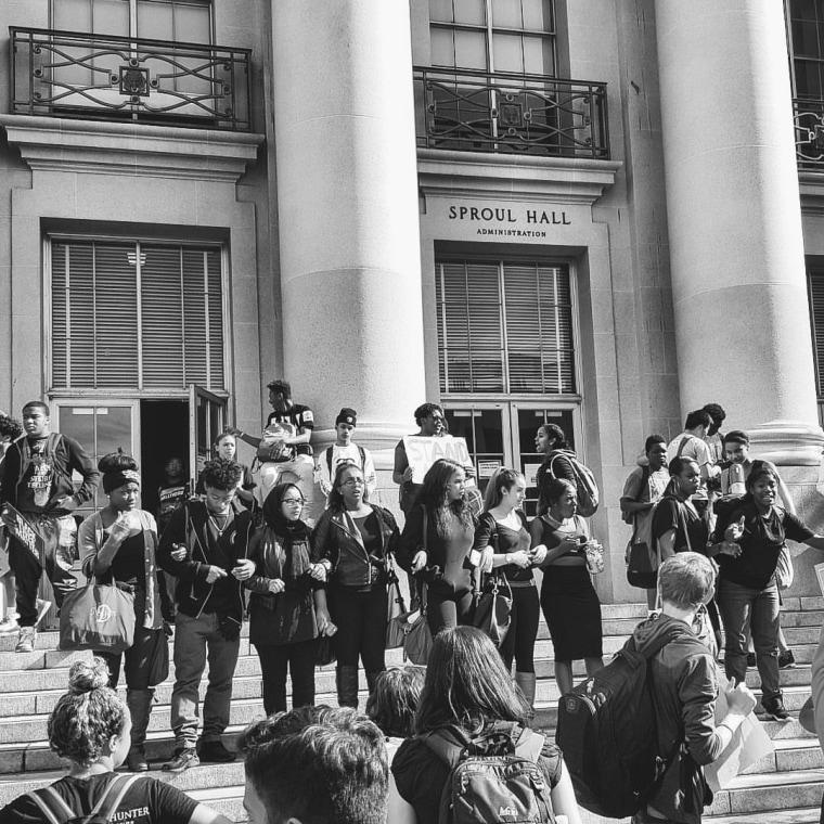 Berkeley High School Walk out, November 6th, 2015