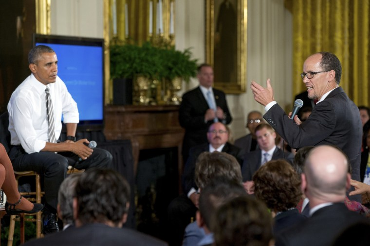 Image: Barack Obama, Tom Perez