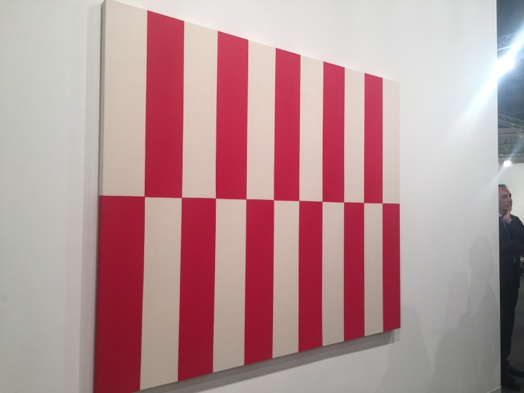 From acclaimed artist Carmen Herrera, whose work is in the permanent collections at the MoMA, Tate Modern and the Hirshhorn, at Art Basel Miami Beach 2015.