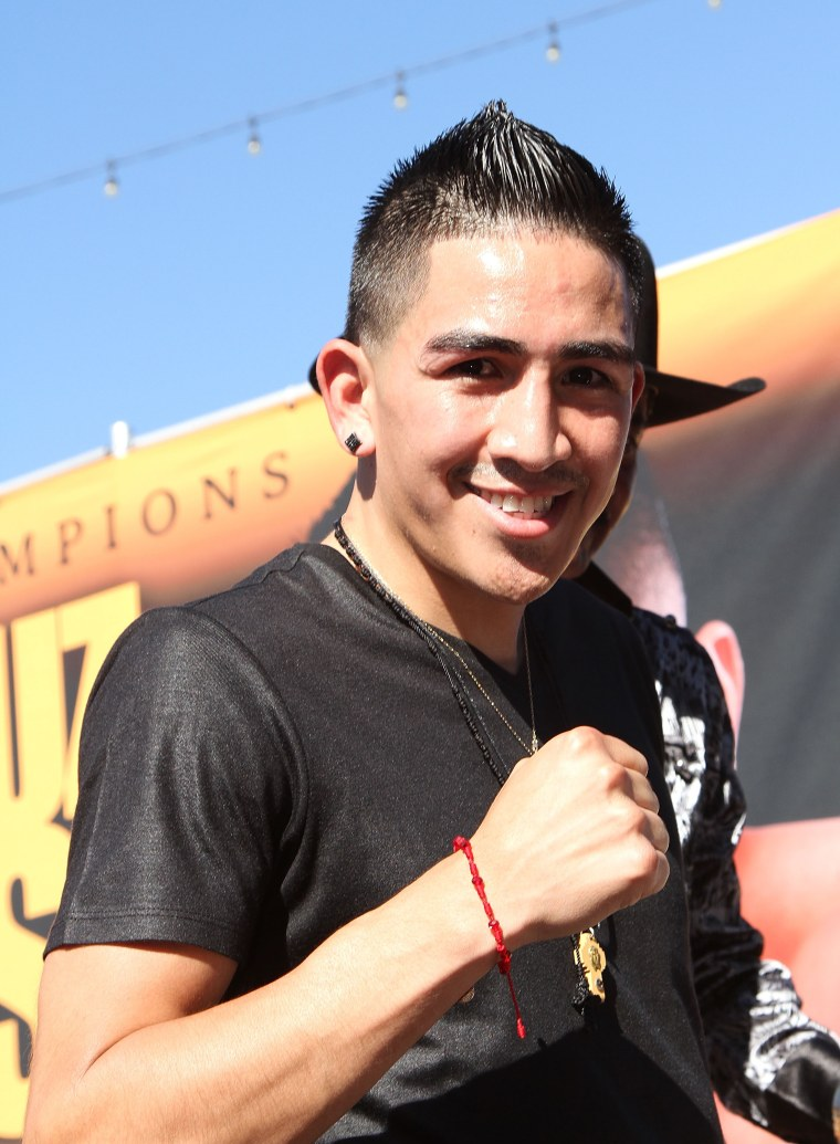 Leo Santa Cruz And Abner Mares Host Los Angeles Press Conference