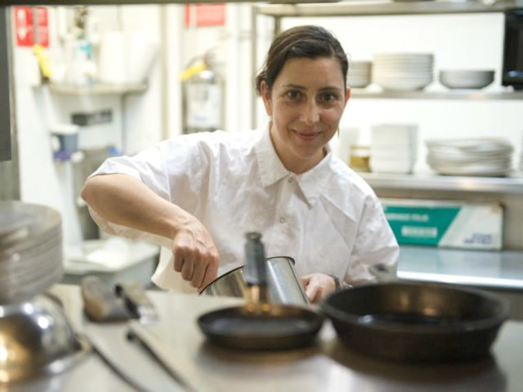 Alex Raij, who co-owns with her husband and chef Eder Montero the Spanish restaurant La Vara (The Branch) in Brooklyn, in New York City. The couple serves dishes that come from Sephardic and Moorish traditions.