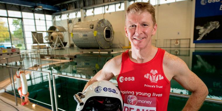 Image: ESA astronaut Tim Peake