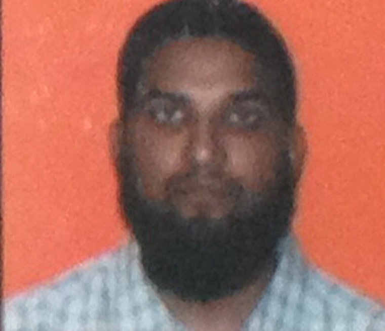 Syed Farook appears in a ID photo from California State University