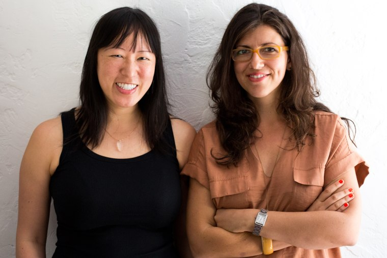 The Mash-Up Americans Co-founders Amy S. Choi and Rebecca Lehrer
