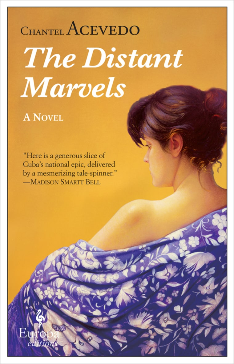 The Distant Marvels by Chantel Acevedo (Europe Editions).