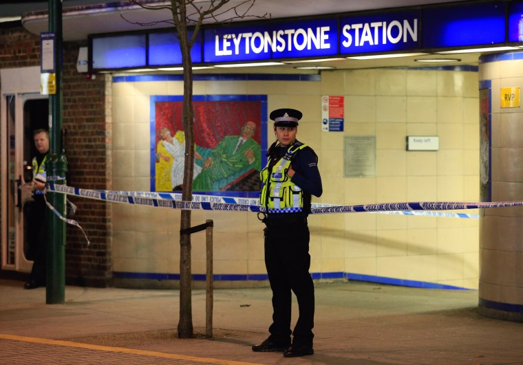 Image: Leytonstone stabbing