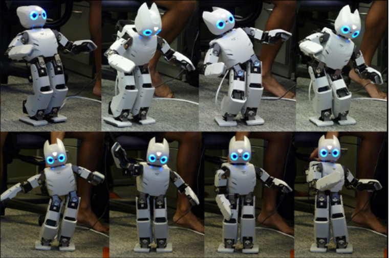 California Robot Is Teaching Itself to Walk Like a Human Toddler