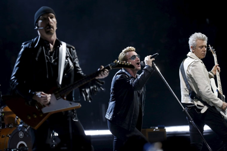 Image: U2 in Paris
