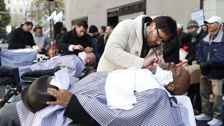 No-Shave November ends on TODAY with a big shave on the plaza - TODAY.com