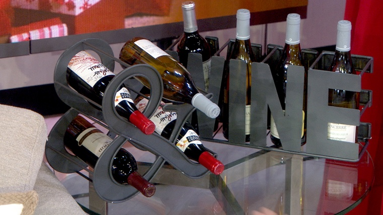 hostess gifts wine rack