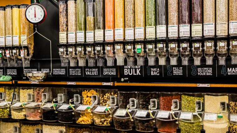 bulk dry foods